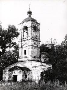 Воскресенском Камешковский район церковь